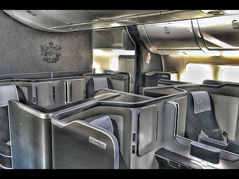 NEW FIRST CLASS   British Airways   Boeing 787-9   LHR-EWR  