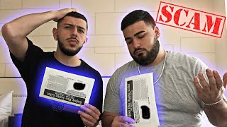 WE GOT SCAMMED FOR $1,000! *FAKE TICKETS*