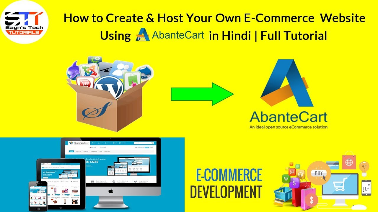 How To Create Host Your Own E Commerce Website Using