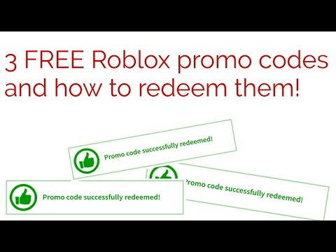 (expired) 3 *FREE* Roblox promo codes and how to redeem ...