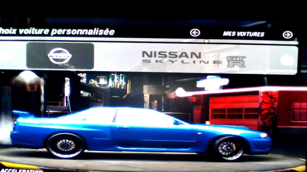video detente need for speed underground 2 pr sentation des voitures de tous les f f pc. Black Bedroom Furniture Sets. Home Design Ideas