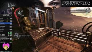 Dishonored 2 Speedrun - No Powers 34:59 PB/WR
