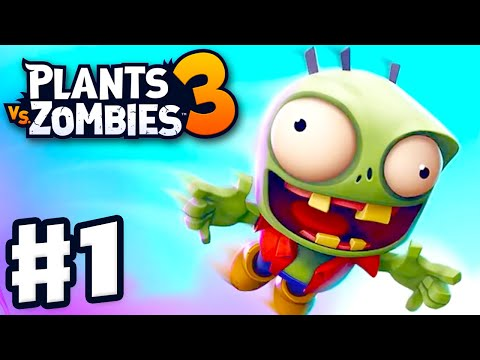 Plants Vs. Zombies 3 - Gameplay Walkthrough Part 1 - New Plants! New Zombies! Devour Tower Attacks!