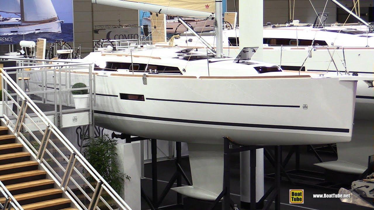 2019 Dufour 360 Grand Large Sail Yacht - Deck and Interior Walkaround -  2019 Boot Dusseldorf