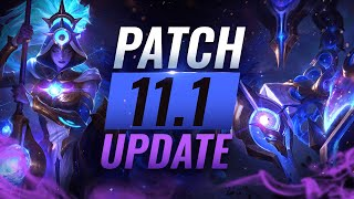 NEW UPDATE: BEST Chamṗions TIER List – League of Legends Patch 11.1