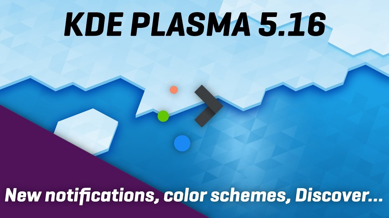 KDE Plasma 5 16 - New Notifications, and a lot of polish all around