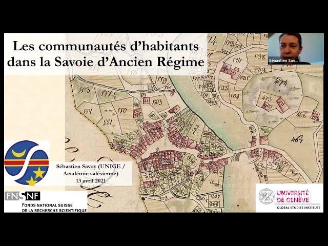 Les communautés d'habitants dans la Savoie d'Ancien Régime
