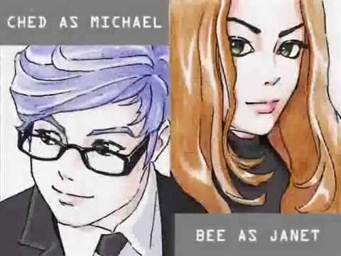 Scream by Michael & Janet Jackson (Big Bang Theory Mix Cover by Ched Satoshi & Bee Jackson)
