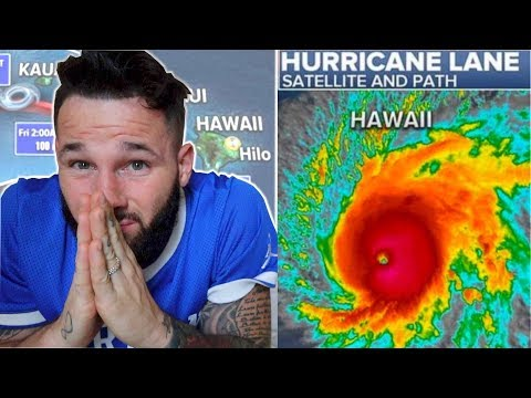 PREPARING FOR HURRICANE LANE
