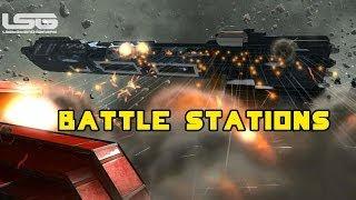 Space Engineers - Weapon Evaluation, Battle Ship Combat Scenarios