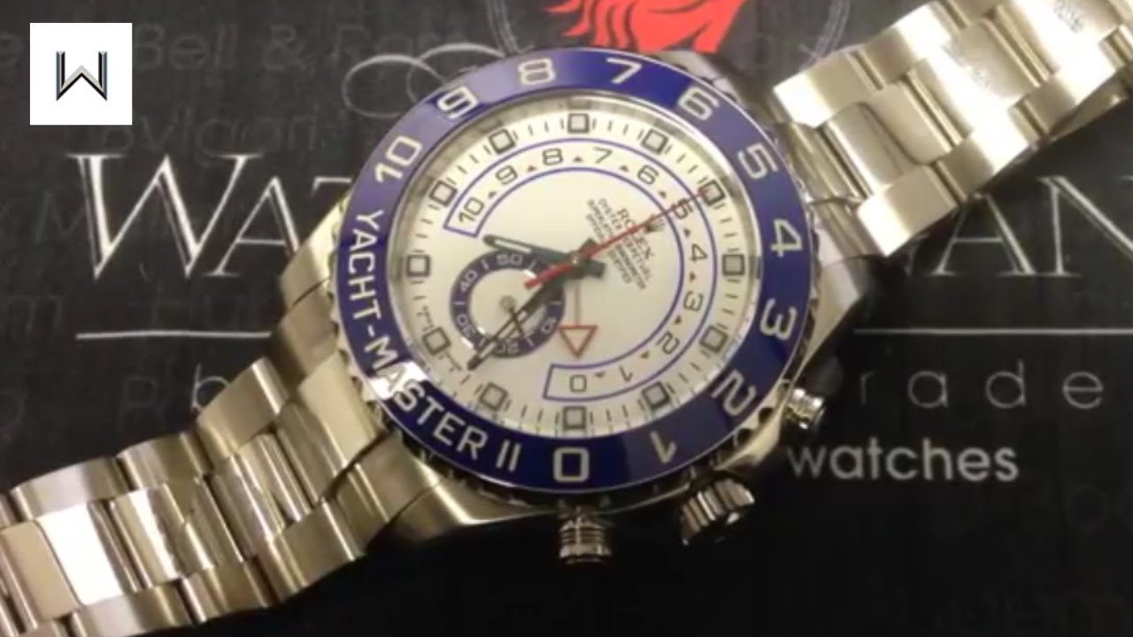 rolex yacht master ii user s guide how to operate the rolex yacht rh youtube com rolex yacht master ii user guide rolex yacht-master ii user manual