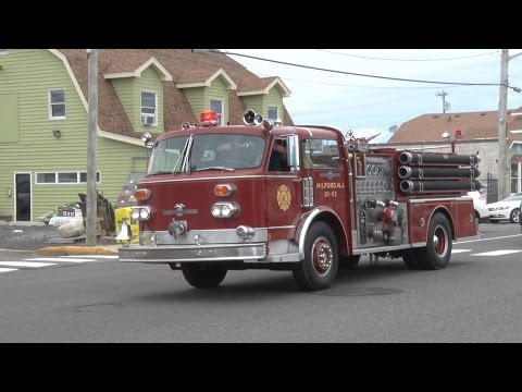 Beach Haven,NJ Fire Department Triple Housing & Parade