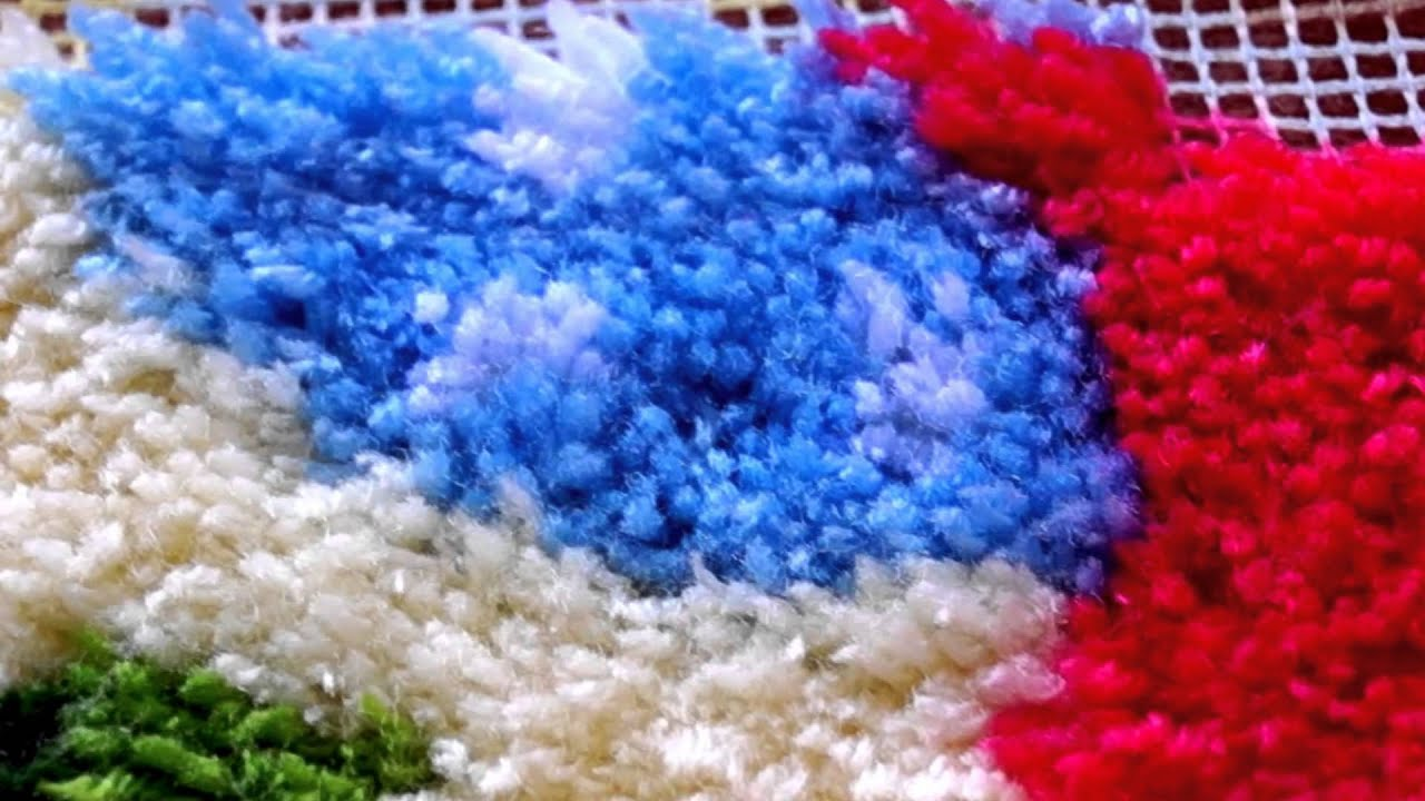 Совёнок в ковровой технике. Экватор