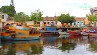 Bem Bahia Hotel apresenta: Rio Buranhém - Restaurante Os Ribeirinhos