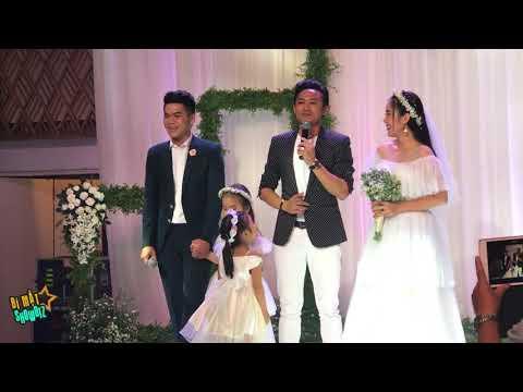 [8VBIZ] - Quý Bình song ca với Trung Kiên mừng tình cũ Lê Phương đám cưới