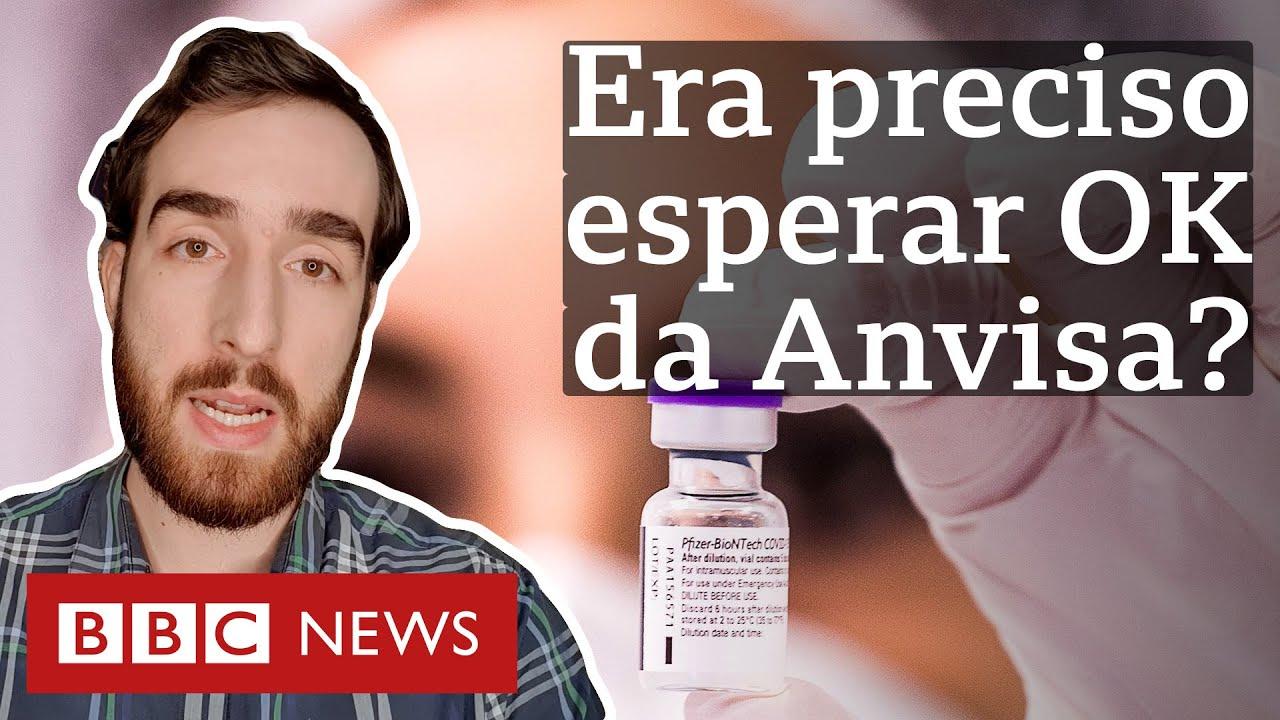 Por que governo não precisava de aval da Anvisa para encomendar vacinas