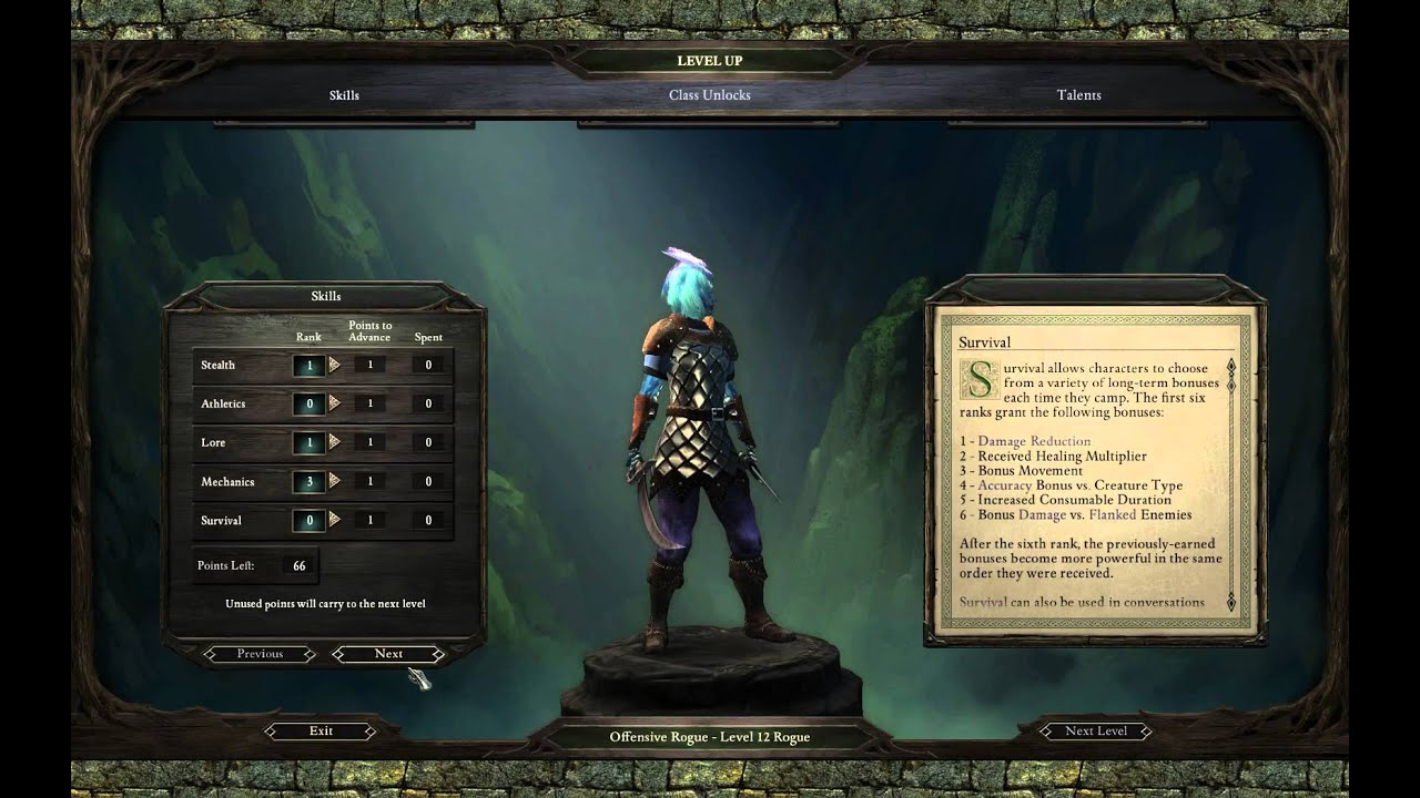 Pillars of Eternity: White March 2 - Offensive Rogues Guide