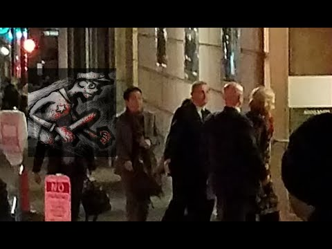 Hillary Clinton leaving Portland Oregon Concert Hall 12/12/17