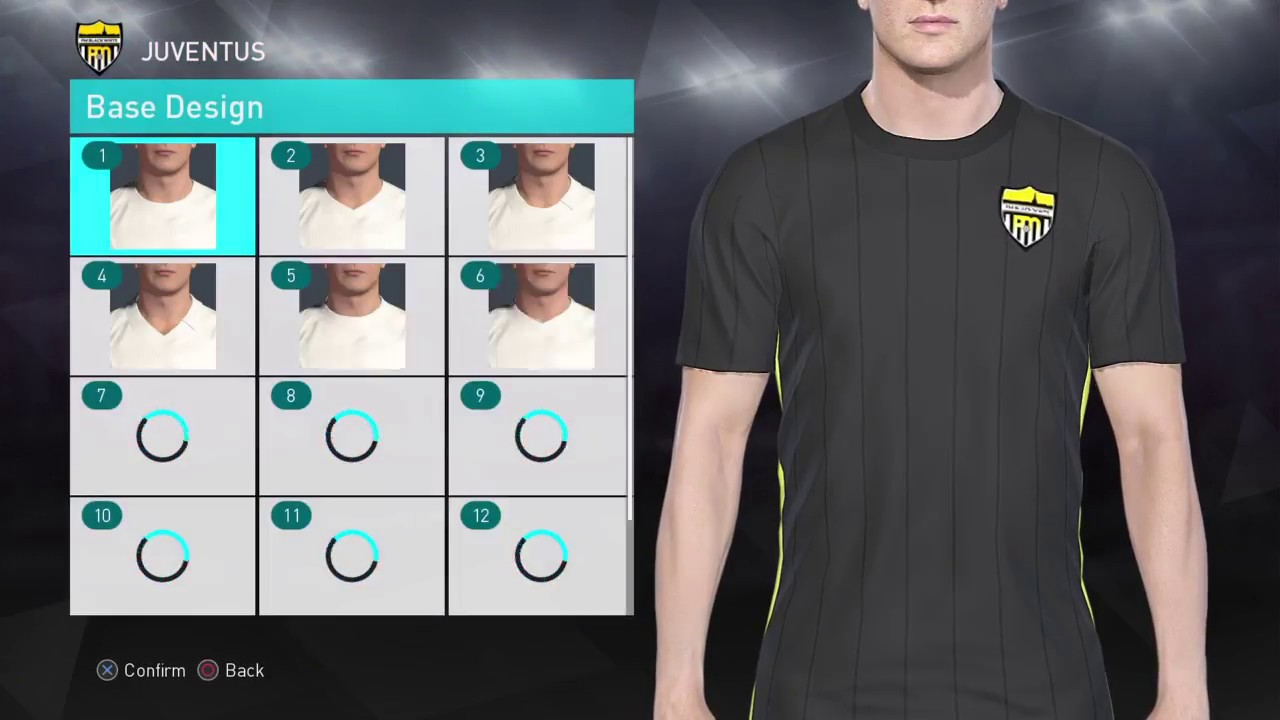 online store 39b9f eb9cb PES 2018 2019 Kit Editing XBOXONE/360 - JUVENTUS 3rd Kit 18/19