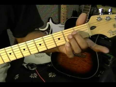 Little Wing Rhythm Guitar Improvisation Special Chord Tutorial ...
