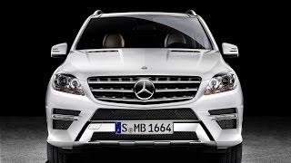 Mercedes Benz M W166 2011 кроссовер