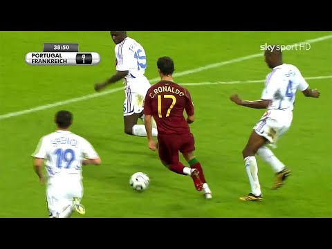Young Ronaldo was INSANE