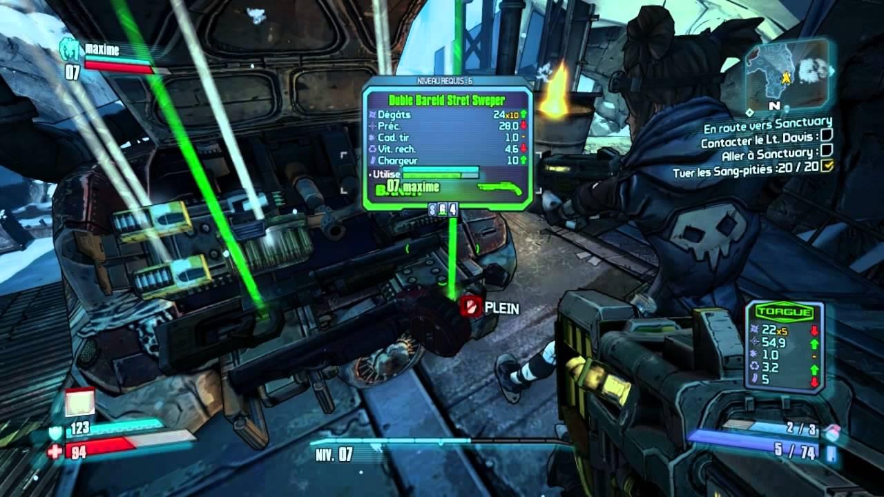 ► Premiers pas sur Borderlands 2 – Gameplay découverte [FR]