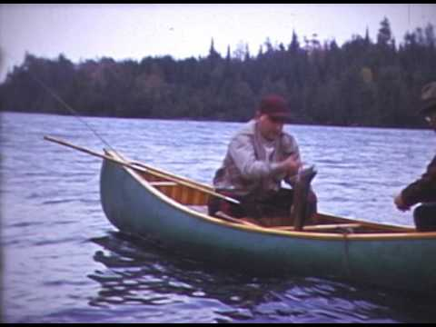 1940s maine fishing trip with float plane youtube for Maine fishing laws 2017