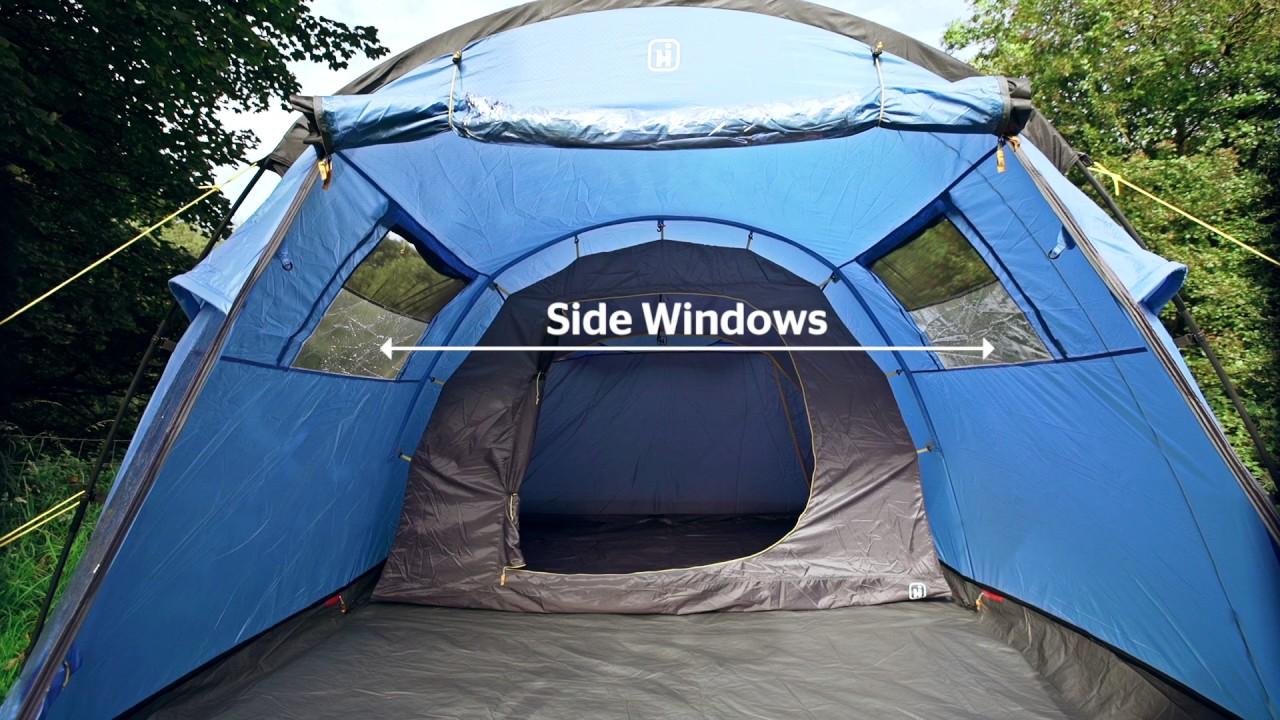 Hi Gear Enigma Elite 5 Family Tent & Hi Gear Enigma Elite 5 Family Tent - YouTube