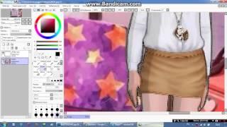 Видео урок как вырезать персонажа в саи