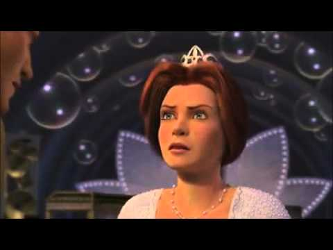 Shrek 2 Fiona Noggs Prince Charming On His Head Youtube