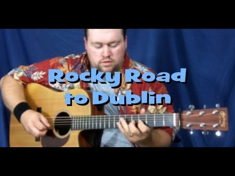 Rocky Road To Dublin Lesson Youtube