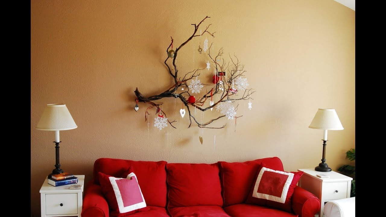 hot 19 christmas wall decor design ideas 2017 home decorating ideas - Christmas Wall Decoration Ideas