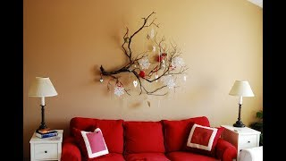 Hot 19  Christmas Wall Decor Design Ideas 2017   Home Decorating Ideas