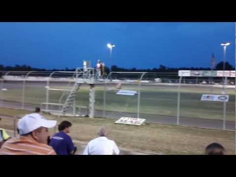 Jared Landers Qualifying at Magnolia Motor Speedway 2012 LOLMDS