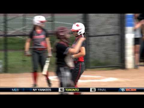 Bedford vs Southgate Anderson High School Softball
