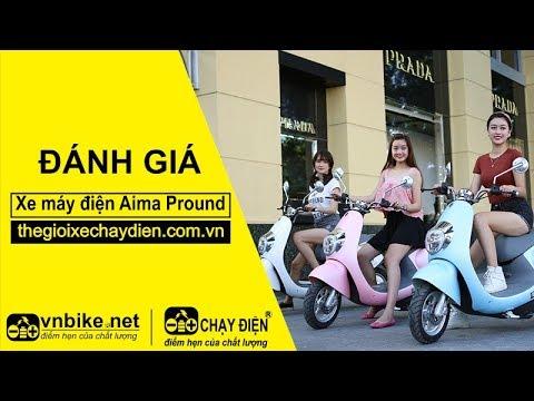 Đánh giá xe máy điện Aima Pround