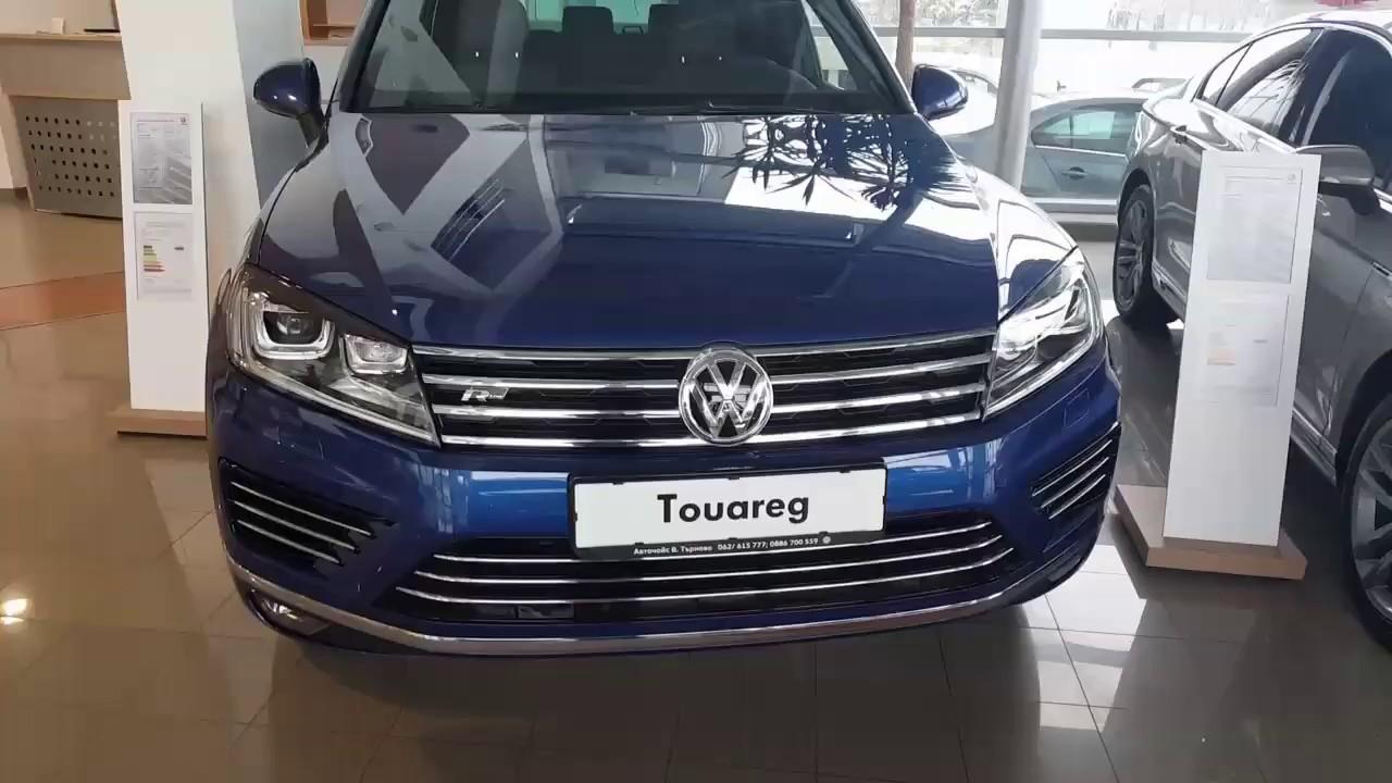 New Volkswagen Touareg R Line 2017