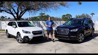 Which LARGE Subaru is the BEST for YOU? 2019 Outback or Ascent