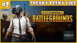 [Let's Play] PLAYERUNKNOWS'S BATTLEGROUNDS #2 - Sneaky peeky like