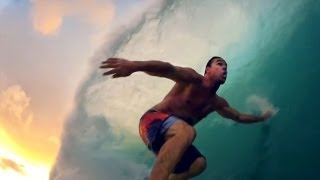 GoPro HD: Kalani Chapman Surfs Pipeline Big Swell