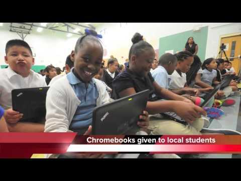 East Lake Elementary School in Chattanooga gets Chromebooks