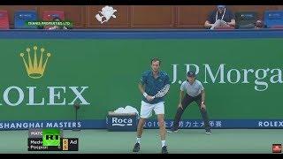 Medvedev Has 'meltdown' At Shanghai Masters