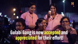 Meet the gulabi gang - omg! chhattisgarh - history tv18
