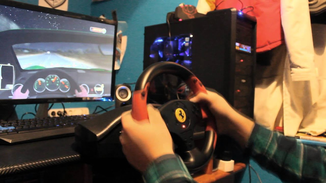 Thrustmaster Ferrari Racing Wheel Red Legend Edition Test