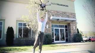 Drones Delivering People: Talent Frameworks Press Video