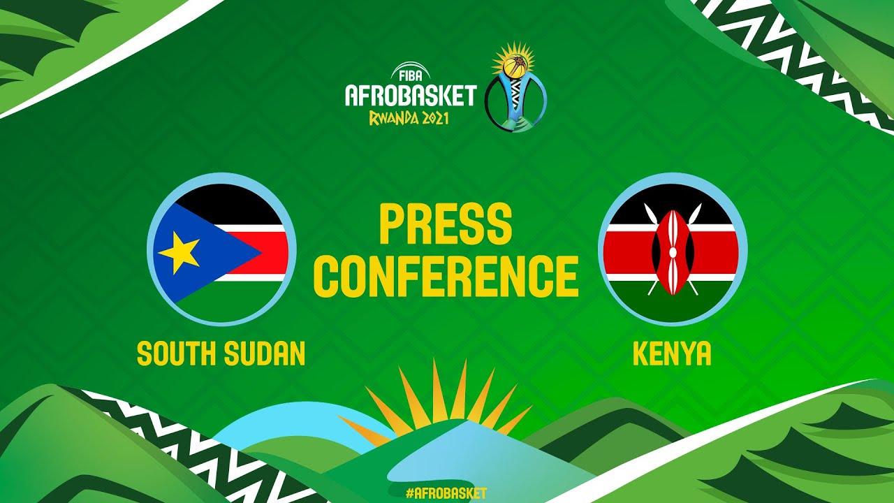 South Sudan v Kenya - Press Conference - FIBA AfroBasket 2021