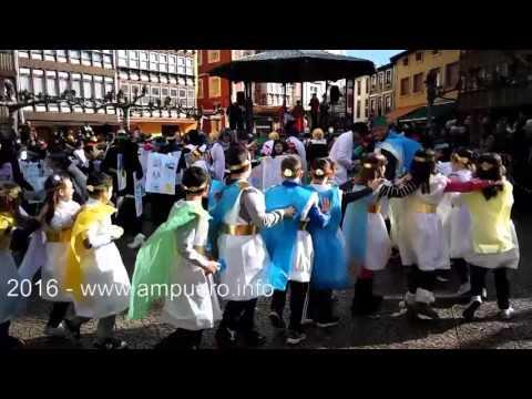 Carnaval colegio 2016 Ampuero