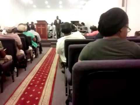 United church of Christ. Preacher decon k Bascum