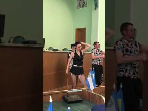 Группа Степ выступает в Херсонской ОГА